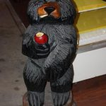 Wooden Black Bear 2010