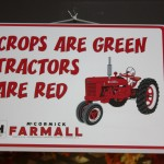 Crops are Green sign 8.2011