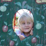 Girl in CF tree 8.2011