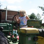 Little Girl on Tractor 2 8.2011