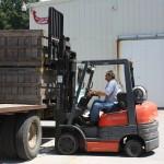 Man on Forklift 8.2011