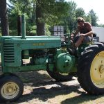 Man on Tractor 8.2011