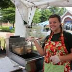 woman frying pies 9.2011