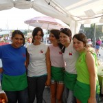 working at festival 9.2011