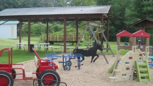 Playground and Covered Picnic Area