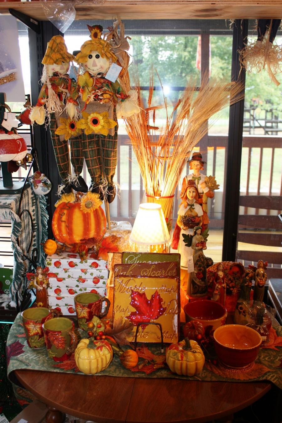 gift shop fall display 82011 � coston farmhendersonville